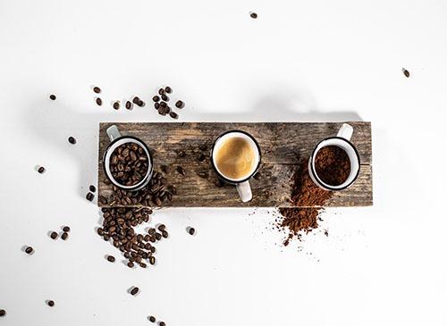 Kaffeepulver und co