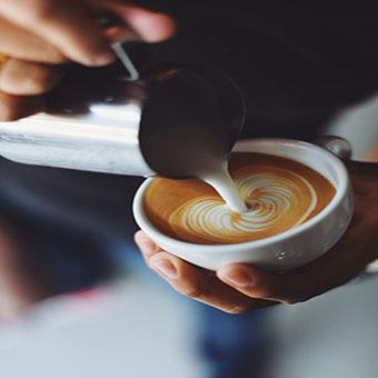 Latte Art - Kaffeecatering