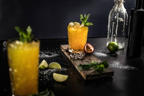 Cocktail Schulung Passionfruit-Mojito